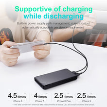 Load image into Gallery viewer, Baseus 10000mAh Dual USB Power Bank