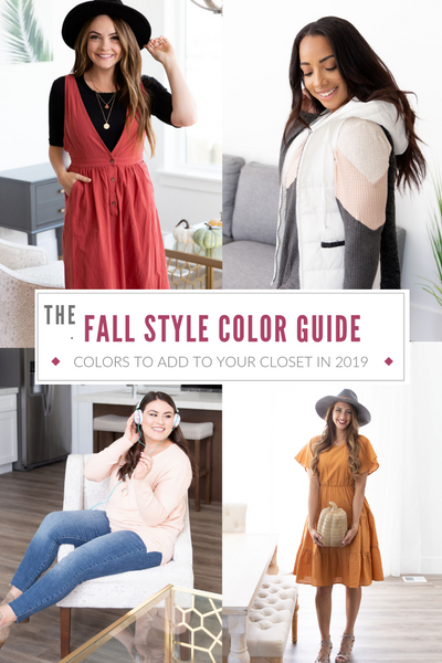 2019 Fall Style Color Guide