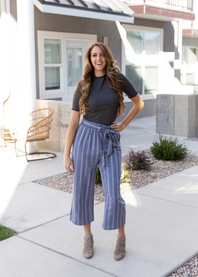 How To Wear Culottes & Trousers