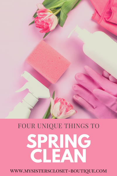 Four Unique Things to Spring Clean This Year