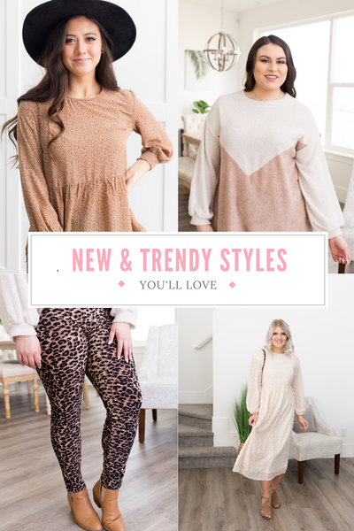Styles You'll Love: New & Trendy