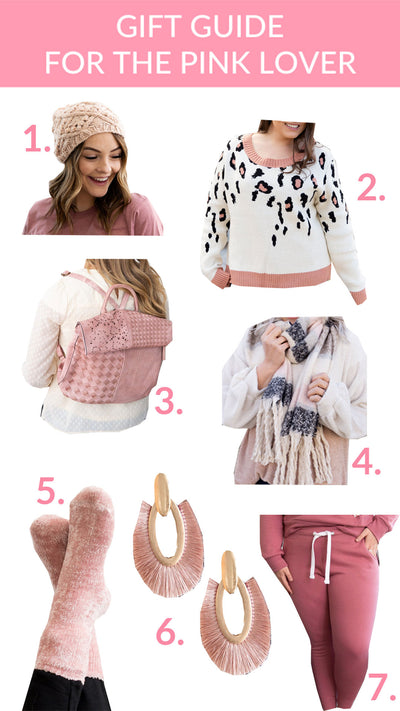 Gift Ideas for the Pink Lover