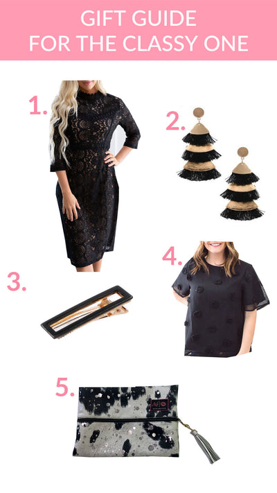 Gift Guide for the Classy Gal