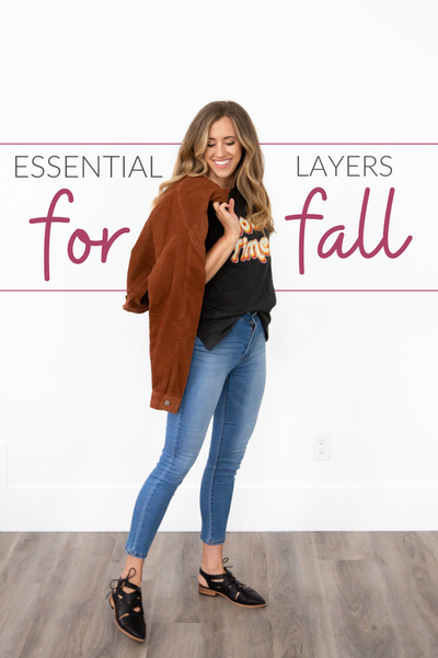 Essential Fall Layering Pieces For Your Closet