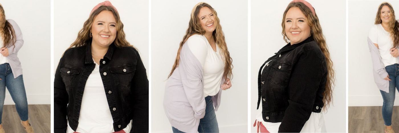 Curvy Sweaters & Outerwear