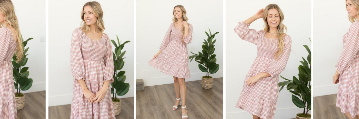 long sleeve boutique dresses
