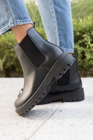 Chunky Boots for Fall