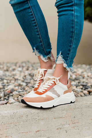 chunky sneakers for fall