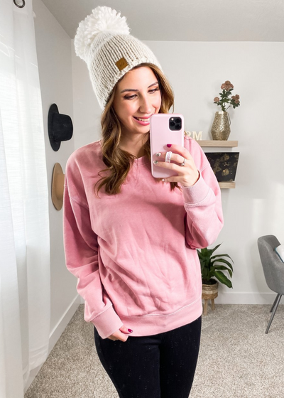 Stella Blush Sweatshirt