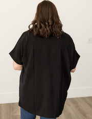 Mila Taupe Color Block Sweater