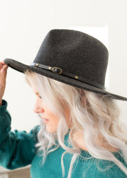 Riley Black with Black Band Hat