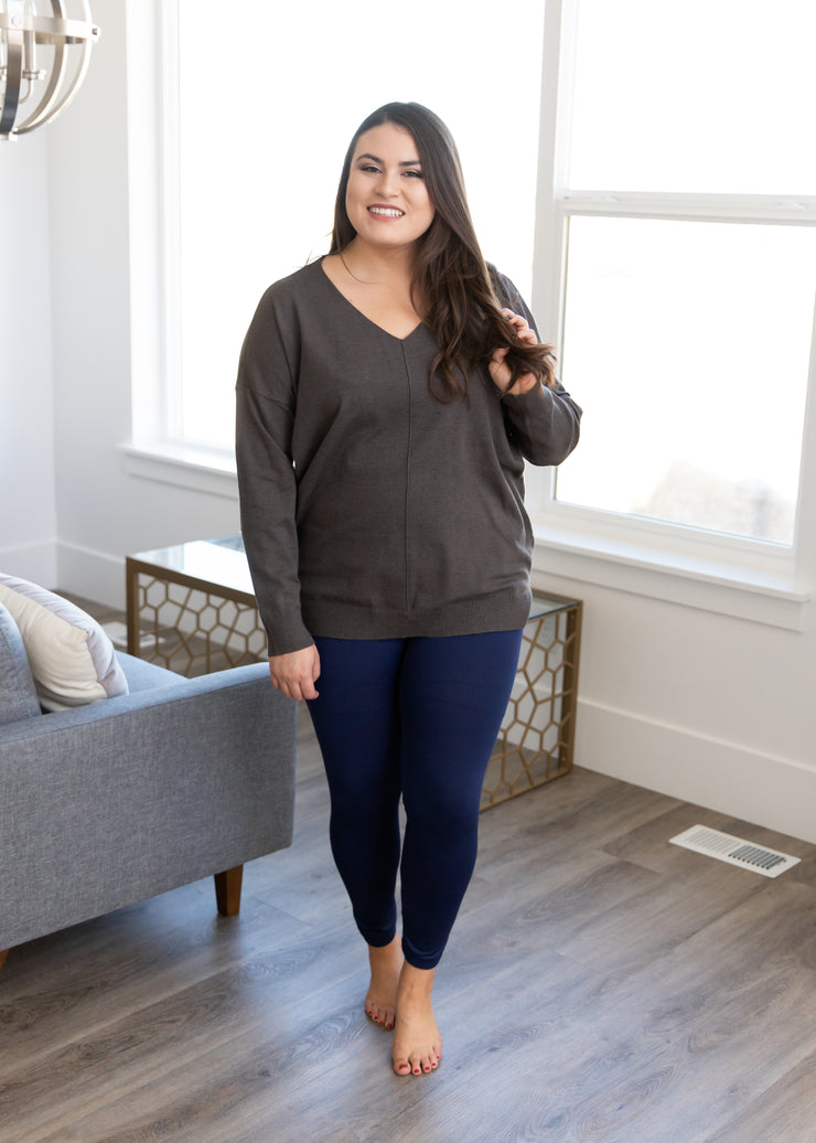 Curvy Favorite Fleece Leggings