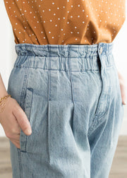 Hannah High Waist Denim Mom Jeans