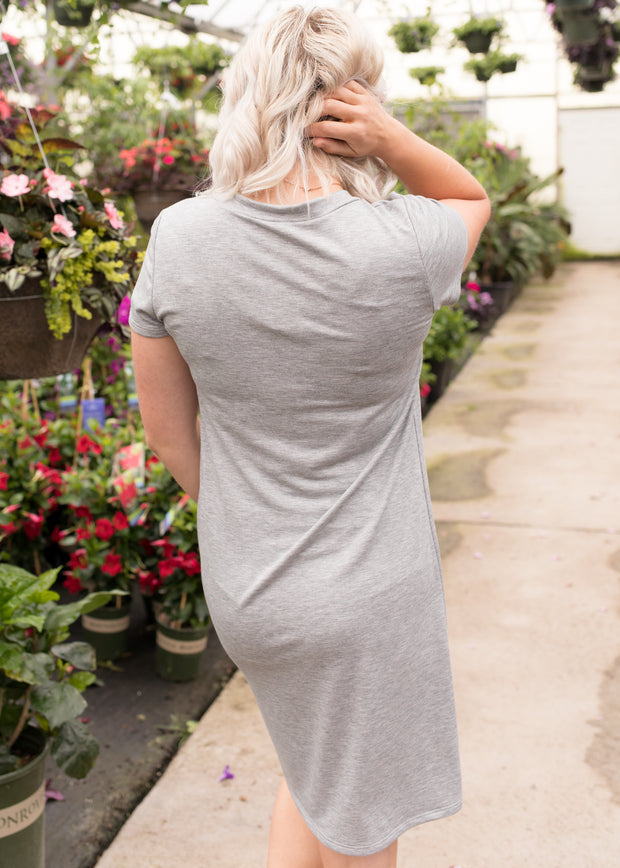 Jessie Heather Grey Dress