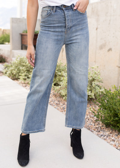 Keep On Steppin' Wide Leg Denim