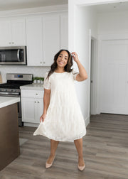 Kyra Cream Dress