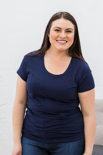 Favorite Basic Tee Curvy