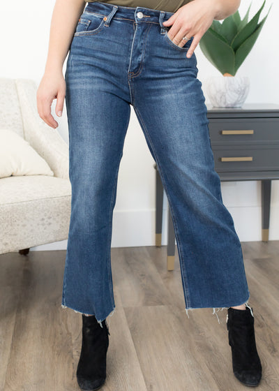 Out Of Sight Wide Leg Jeans