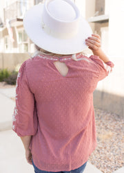 Sadie Rose Embroidered Top