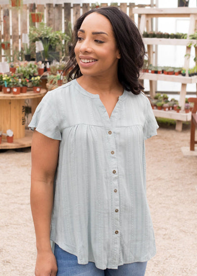 Dallas Top in Light Blue