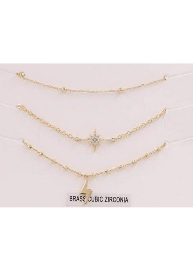 Sky of Stars Gold Bracelet Set