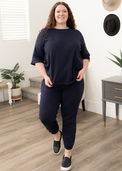 Venus Navy Set in Curvy