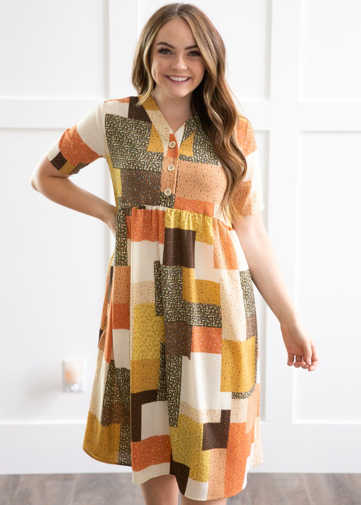 Patchwork Perfection Dress
