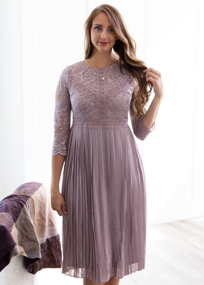Saving Grace Dress in Lavender