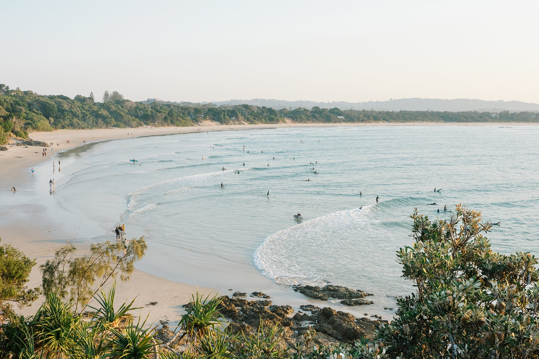The Pass print Byron Bay