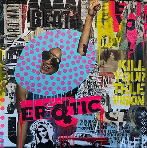 Streetart / Mixed media / Collage