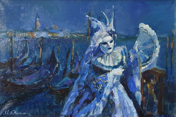 The moon princess (50x40cm)