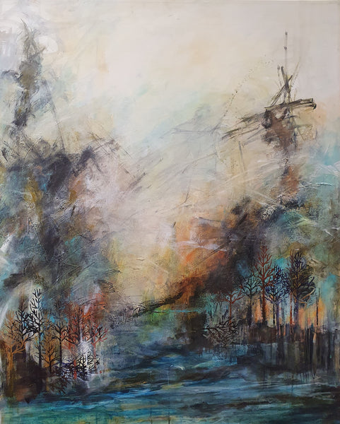Forest way (80x100cm)