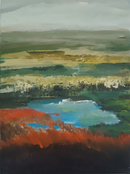 Meadow lake (30x40cm)