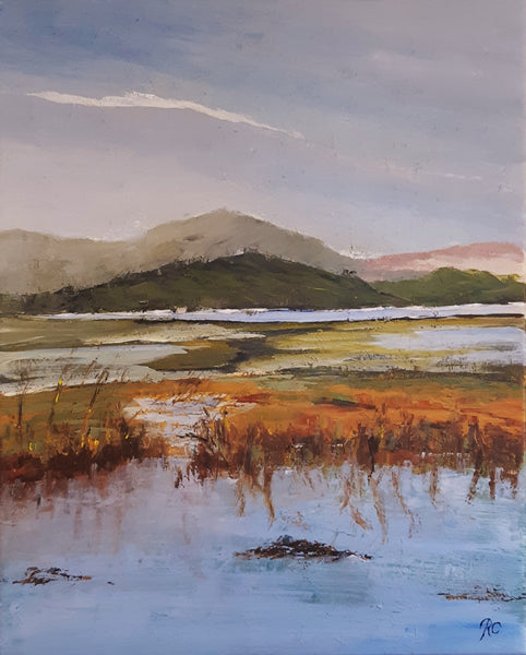 On low water (40x50cm)