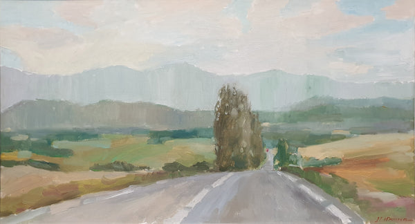 Voyage through La Provence (90x50cm)