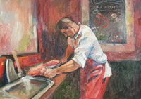 Lone at work (70x50cm)