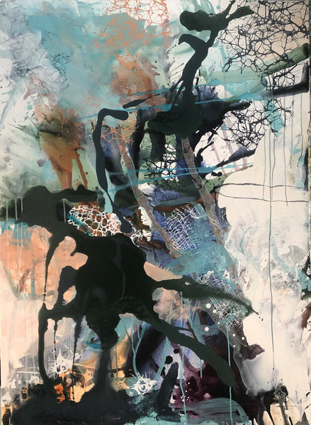 In this moment (100x140cm)