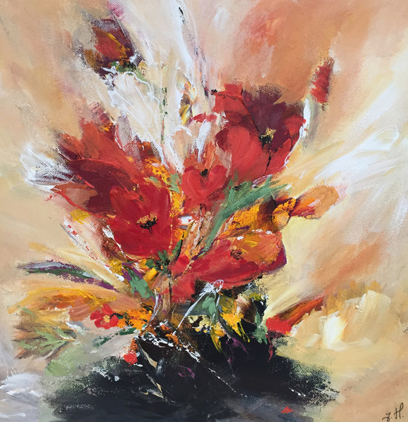 Tulips composition 10 (40x40cm)