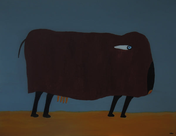 The Cow (90x70cm)