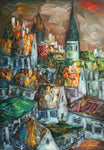 Nightfall in the City (70x100cm)