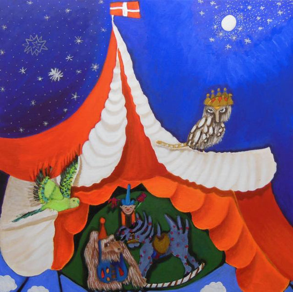 The circus of heaven (80x80cm)