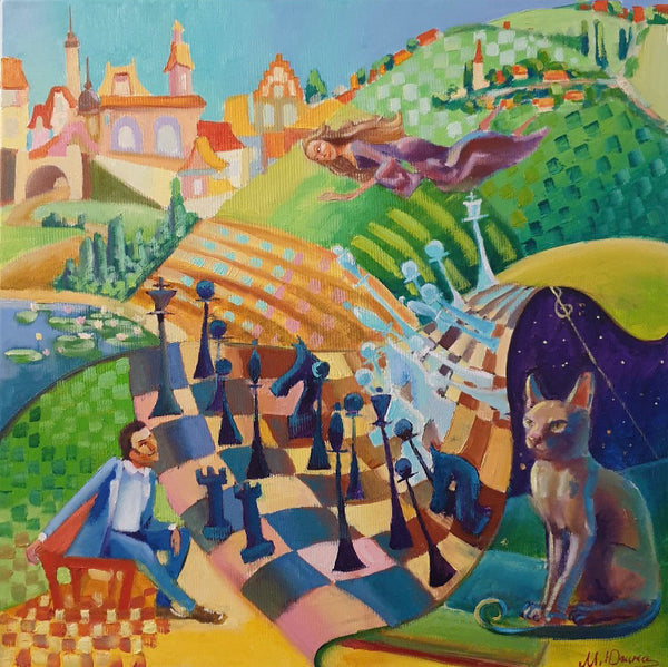 Fairy chess (60x60cm)