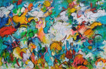 Free as birds (150x100cm)