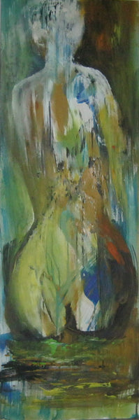 Woman in peace ( 40x120 cm )