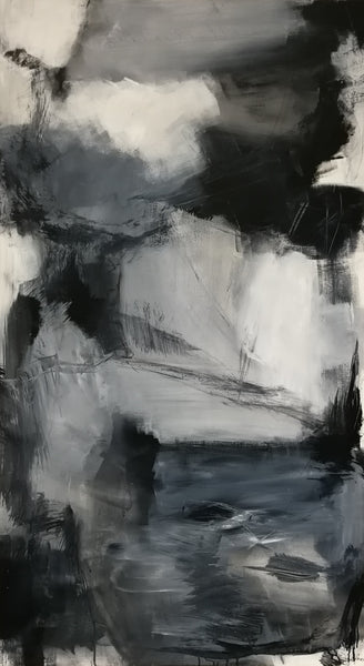 Behind the shadows (90x160cm)
