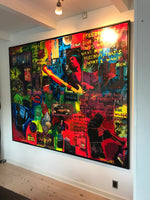 The great psychedelic experience (200x160cm)