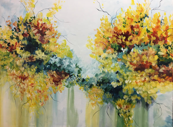 Spring in sight (120x90cm)