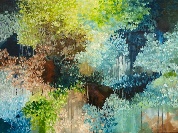 The mystery of the forest (120x90cm)
