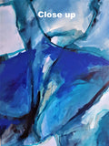 05-17: The blue man (90x120cm)