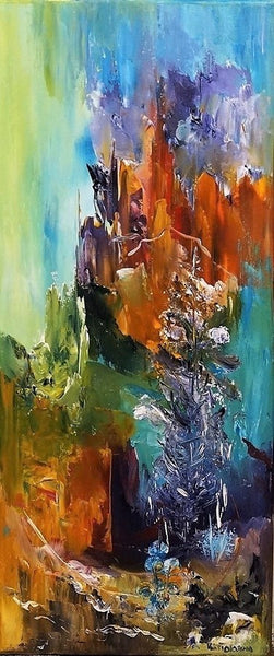 The valley of light (30x70cm)